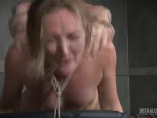 Anastasia s orgasms in bondage